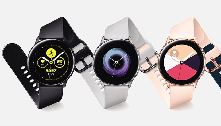 Samsung Galaxy Watch Active loses twisty bezel but brings blood pressure tracking