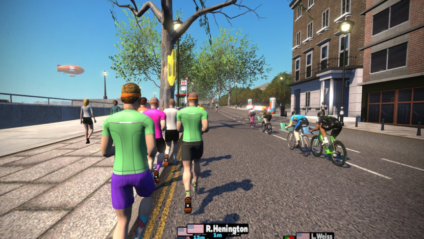 The big race test: Training with Zwift Run to bag a half