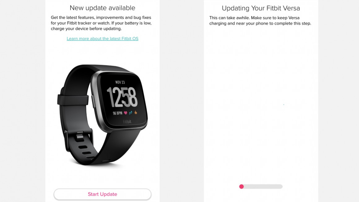 How to update Fitbit