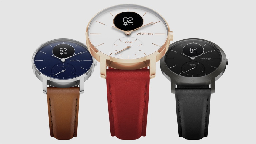 Withings unveils special edition hybrid smartwatch, the Steel HR Sapphire Signature