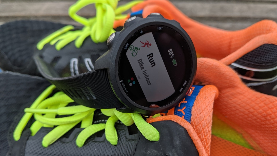 Revisão do Garmin Forerunner 245 Music