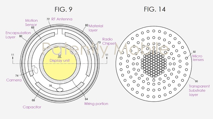 Samsung appears to be exploring the possibility of smart contact lenses