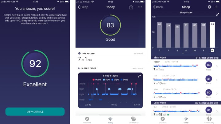 What Fitbit's new Sleep Score feature is teaching me about