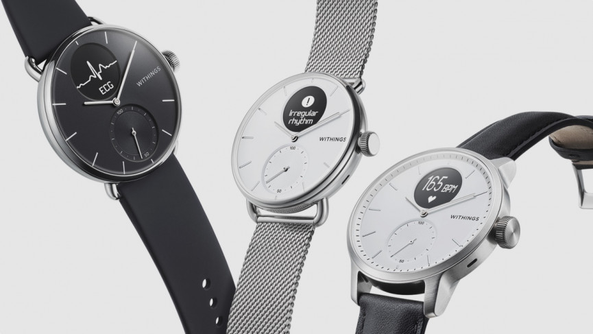 Withings ScanWatch which was announced at CES 2020