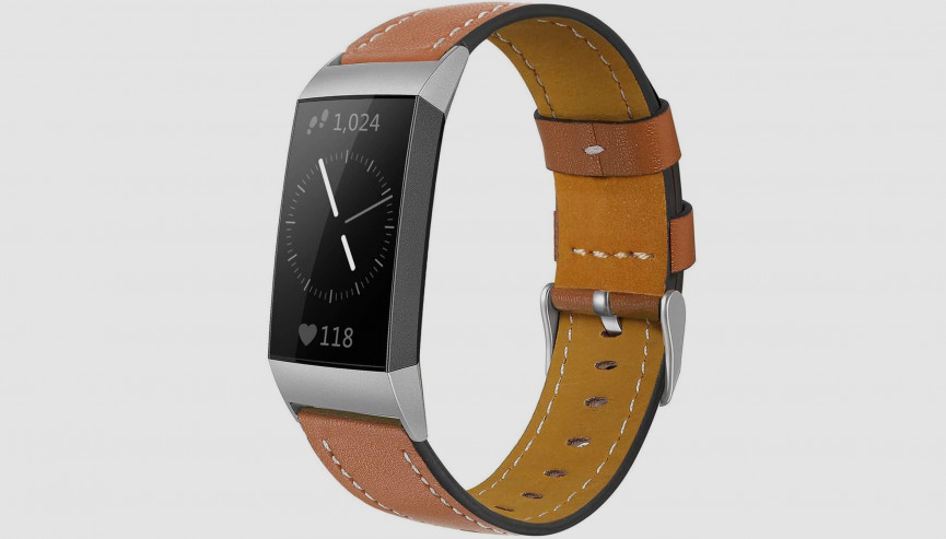 charge 4 leather band
