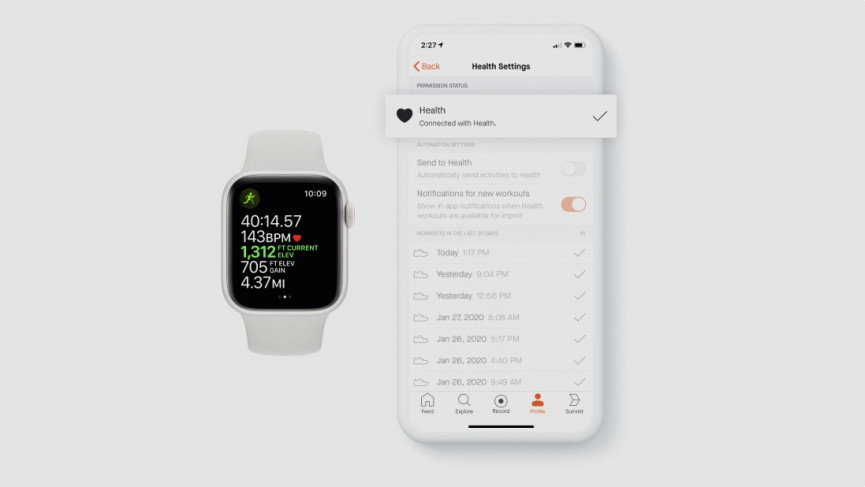 How to sync Apple Watch workouts to Strava