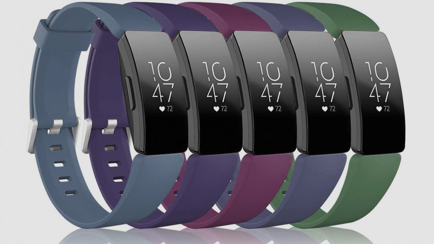 Fitbit Inspire HR replacement silicone straps