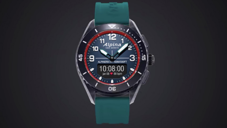 Alpina X Alive smartwatch supercharges the Swiss-made hybrid