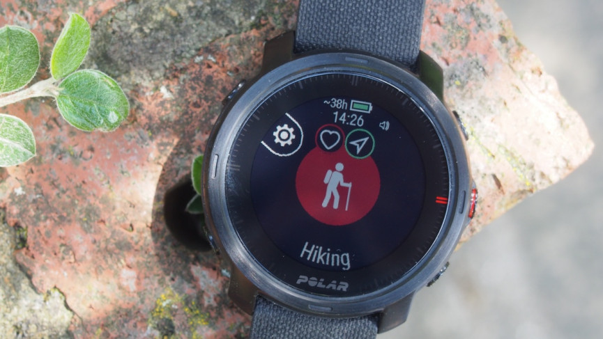 Polar Grit X: Sports tracking and outdoor features