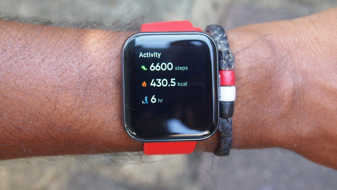 Realme Watch fitness tracking
