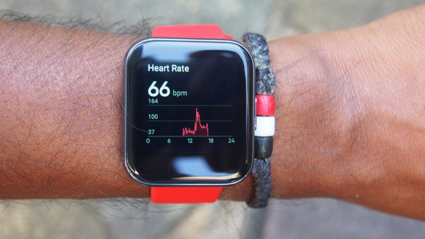 Realme Watch heart rate