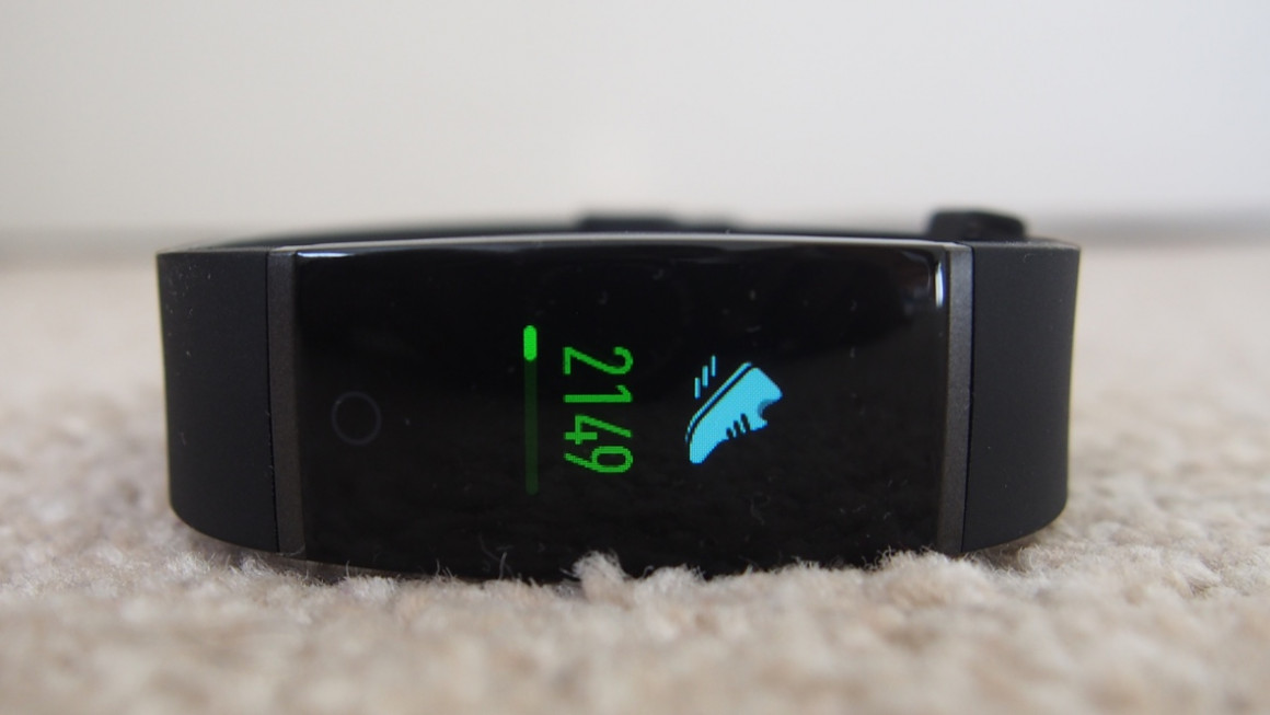 Realme Band: Fitness tracking