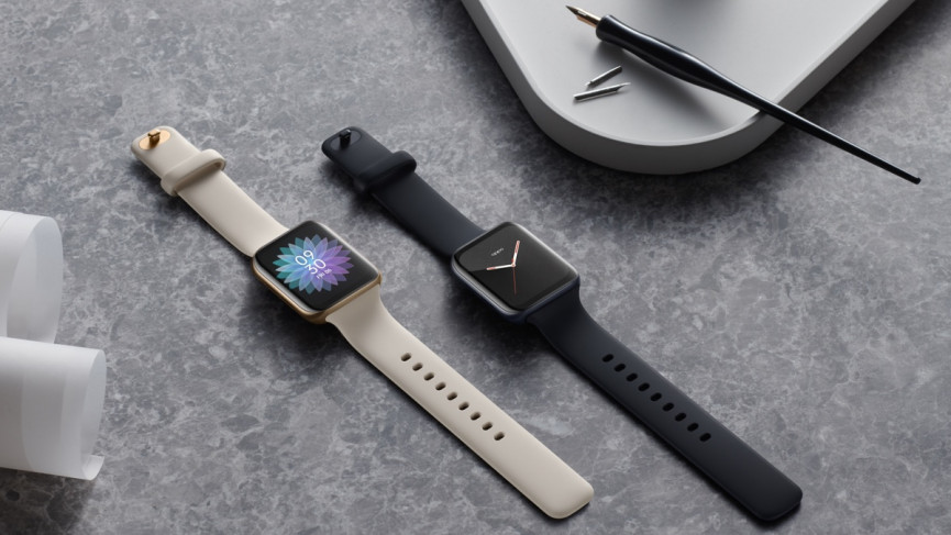 The Oppo Watch which uses Wear OS on the global version