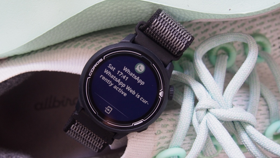 Coros Pace 2 smartwatch and notifications