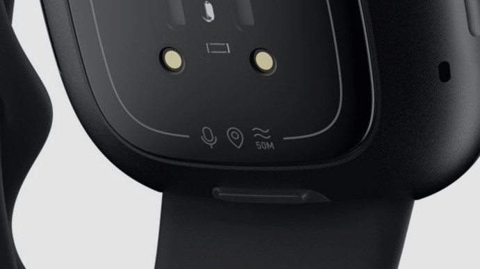Fitbit Versa 3 icons on rear