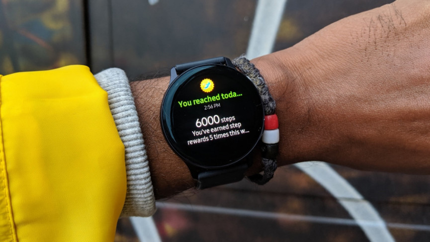 Galaxy Watch Active 2 step tracking