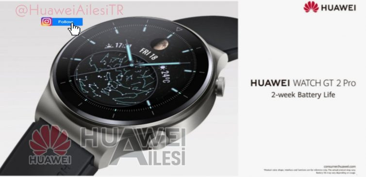 Huawei Watch GT2 2 Pro pictures leak ahead of IFA launch
