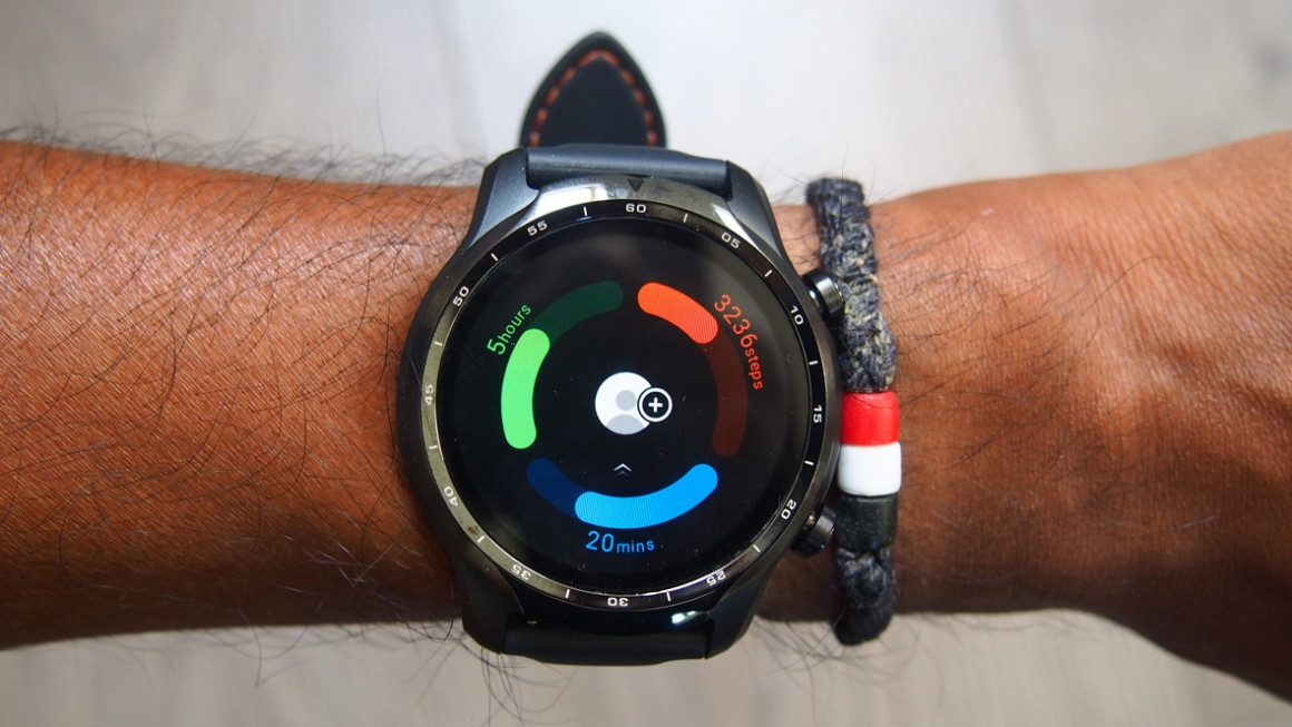 TicWatch Pro 3 fitness tracking