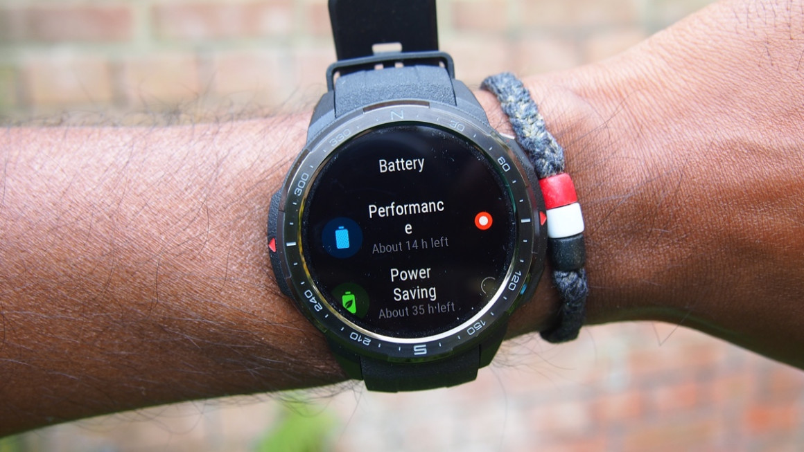 Honor Watch GS Pro performance