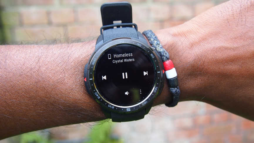 Honor Watch GS Pro music controls