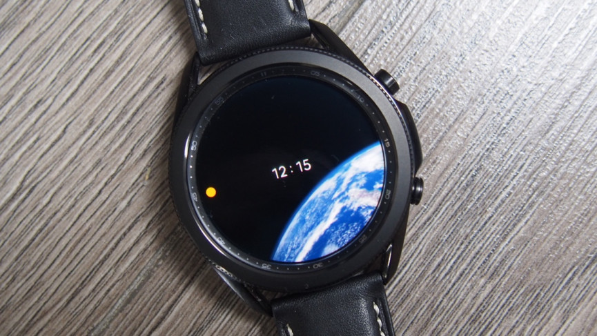Earth Our Home watch face for Samsung Galaxy Watch
