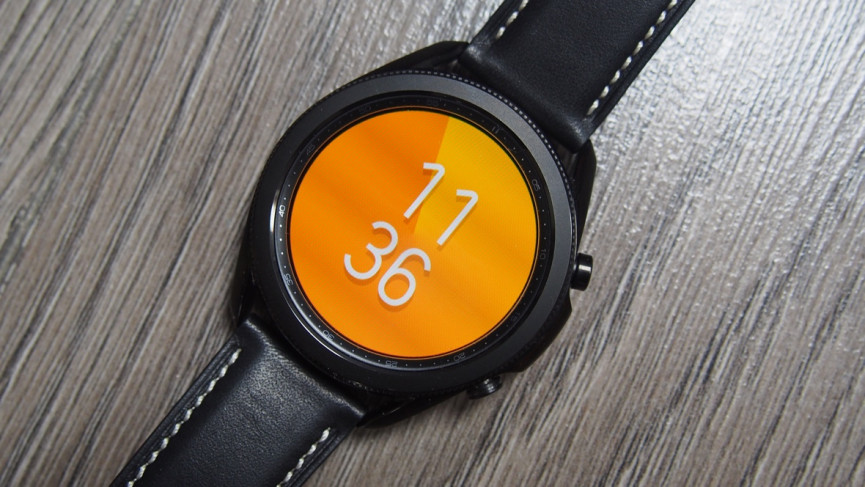 Color Pie watch face for Samsung Galaxy smartwatches
