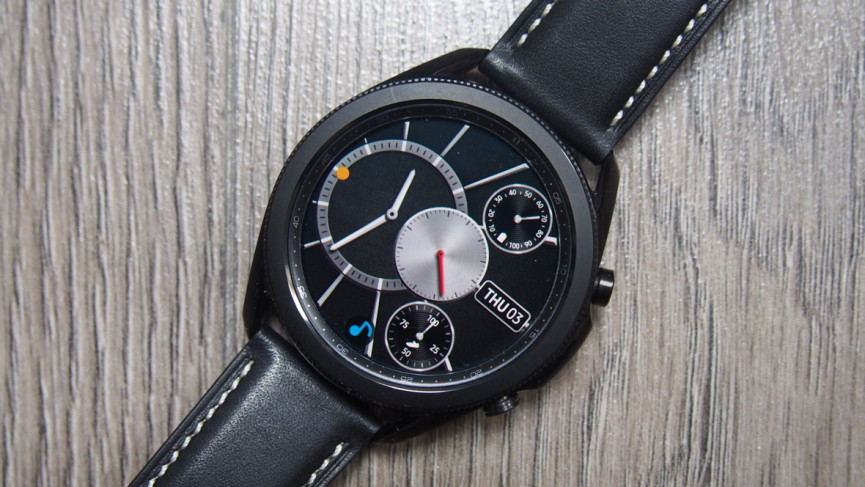 Acentric watch face for Samsung Galaxy Watch