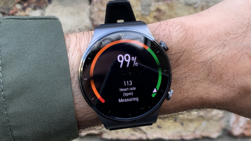 Huawei Watch GT2 Pro SPO2 reading