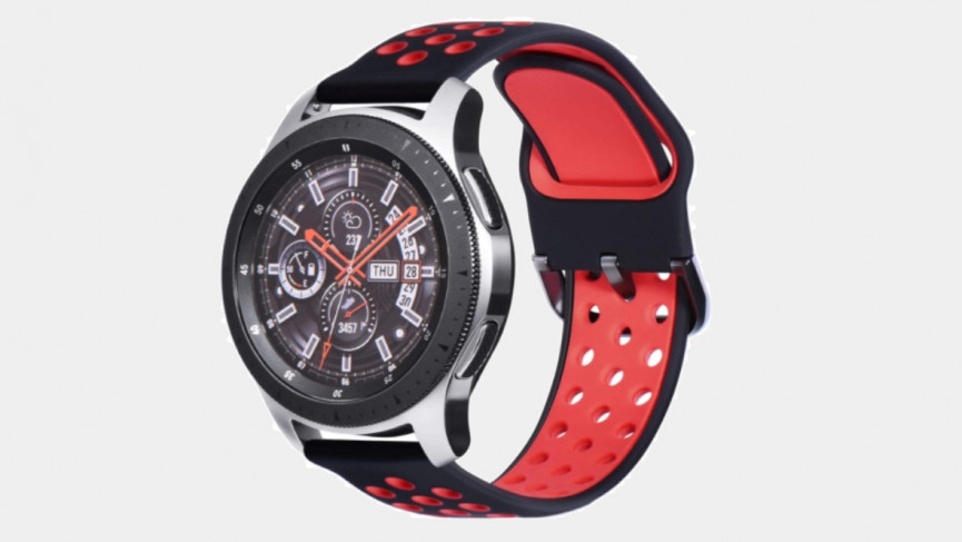 45mm Samsung Galaxy Watch 3 silicone sport band premium