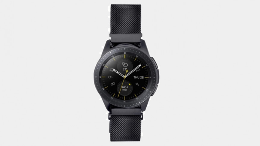 Samsung Galaxy Watch 3 metal mesh loop band 41mm watch 20mm band