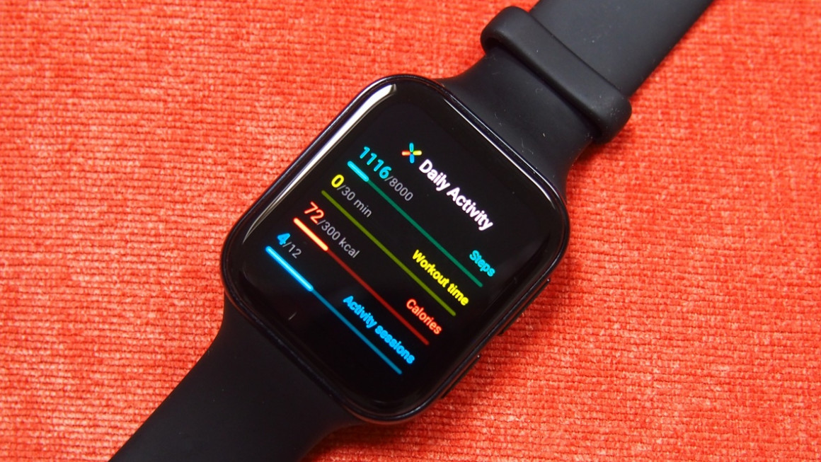 Oppo Watch activity tracking