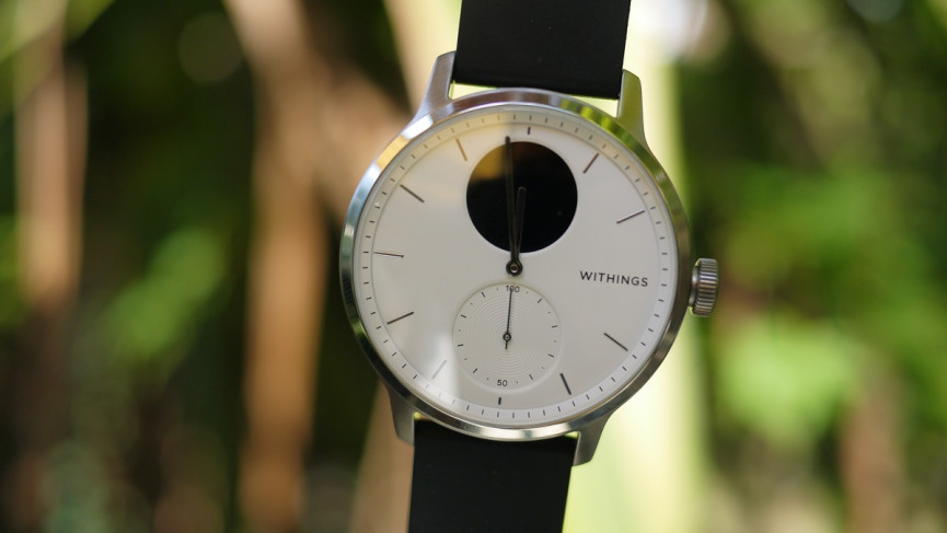 Withings ScanWatch design front on