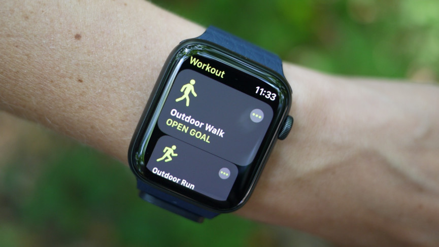 Apple Watch SE and the workout app