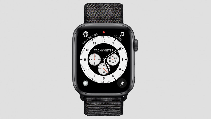 Chronograph watch face watchOS 7