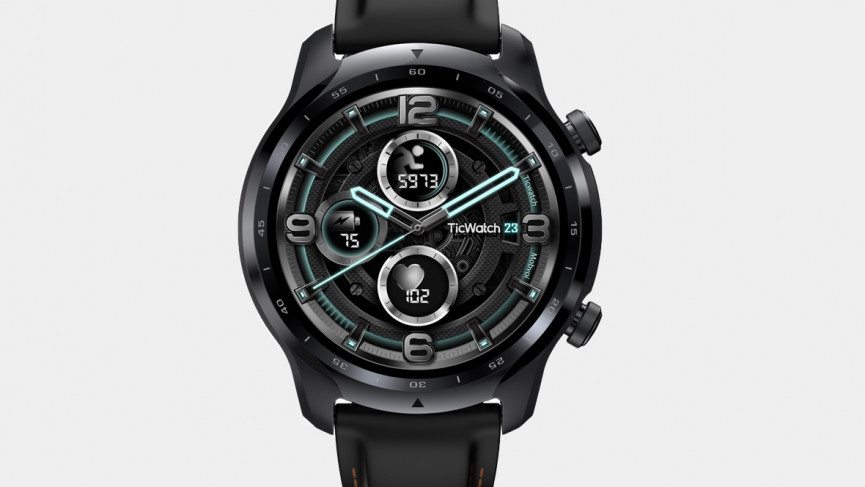 TicWatch 3 Pro front on view