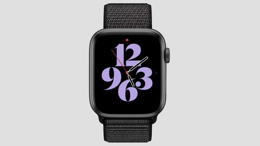 Typograph watch face watchOS 7