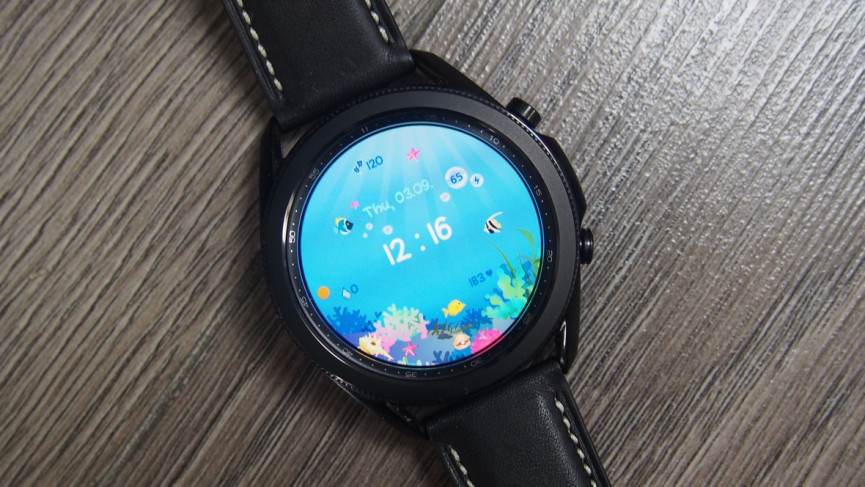 Under The Sea watch face for Samsung Galaxy Watch