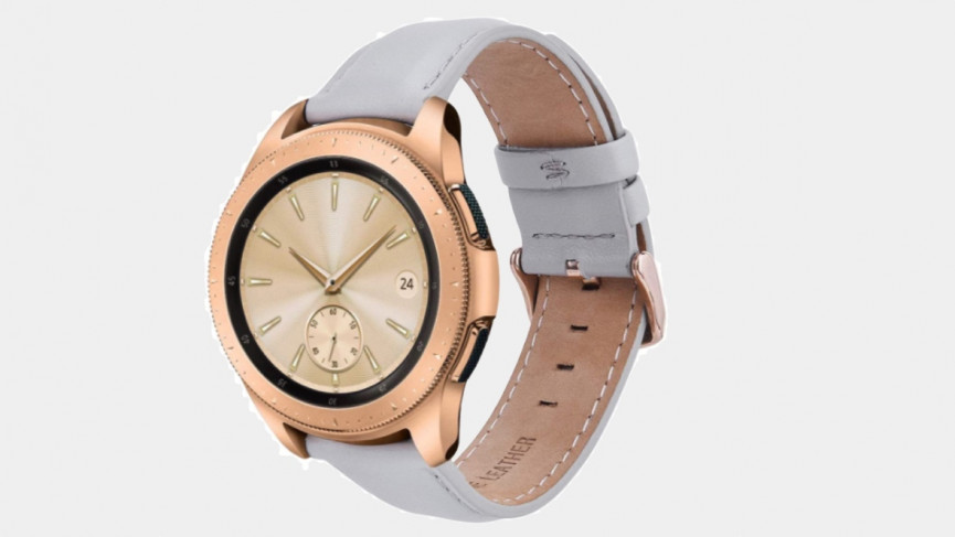 41mm Samsung Galaxy Watch 3 leather for women