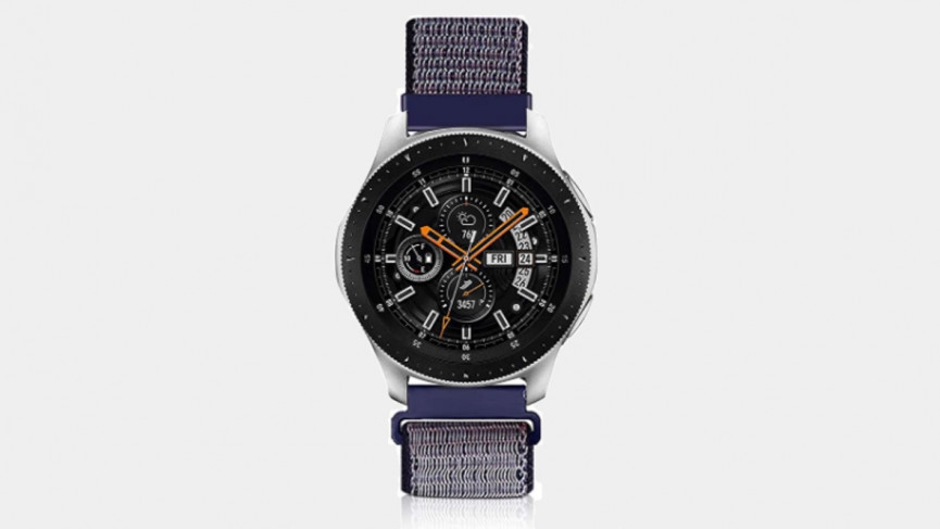 45mm Samsung Galaxy Watch 3 - nylon band