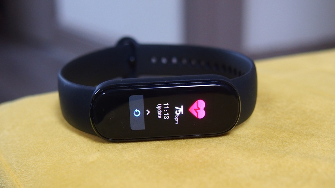 Amazfit Band 5 heart rate monitoring
