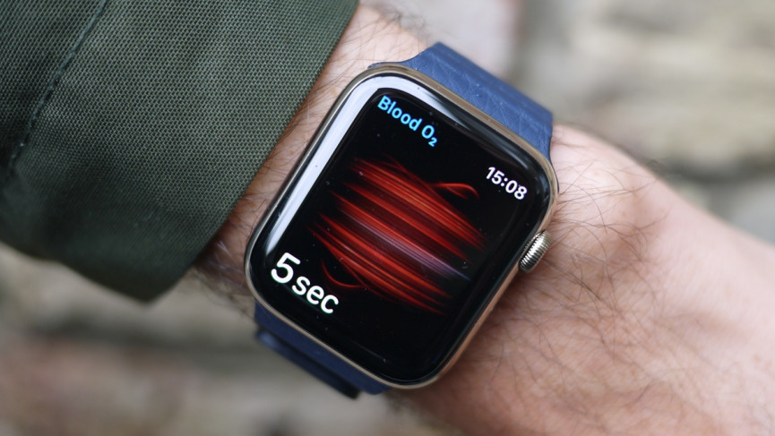 Apple Watch Series 6 blood