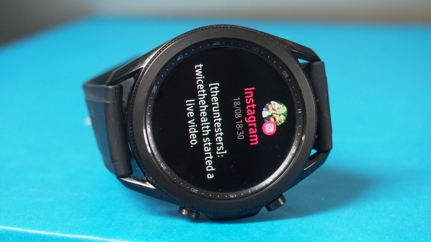 Samsung Galaxy Watch 3 instagram