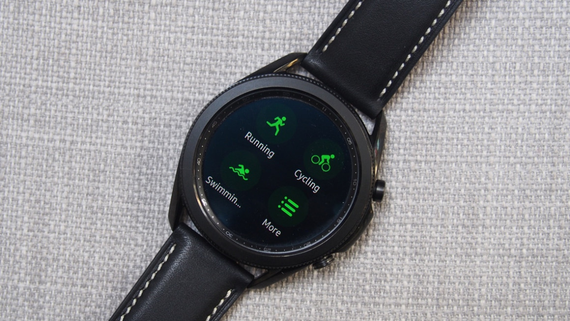 Samsung Galaxy Watch 3 sports