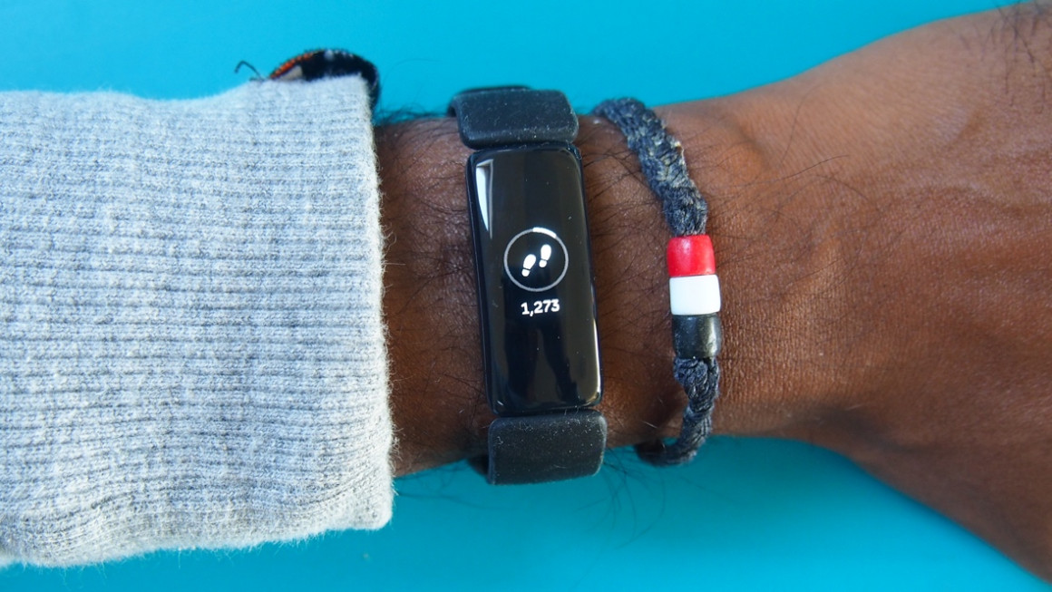 Fitbit Inspire 2 step counting