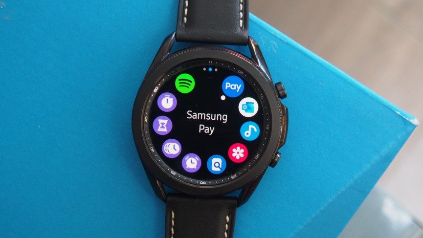 Samsung Galaxy Watch 3 samsung pay
