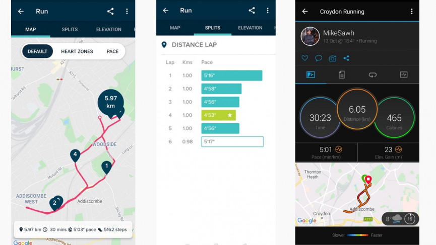 Fitbit Versa 3 running data ands GPS accuracy
