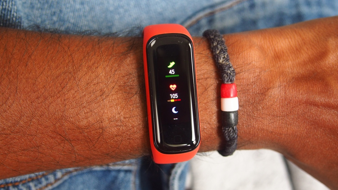 Samsung Galaxy Fit2 heart rate