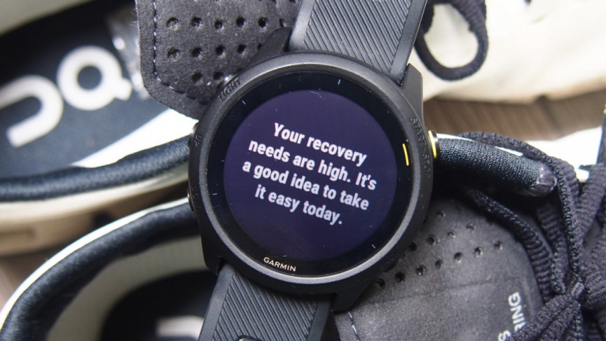 Sports watches tell you the right things to do