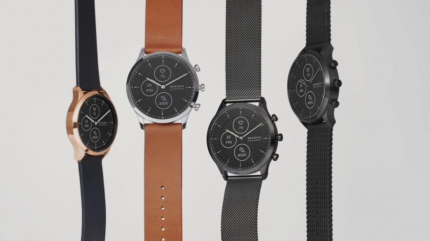 Skagen Jorn Hybrid HR smartwatch lands at CES